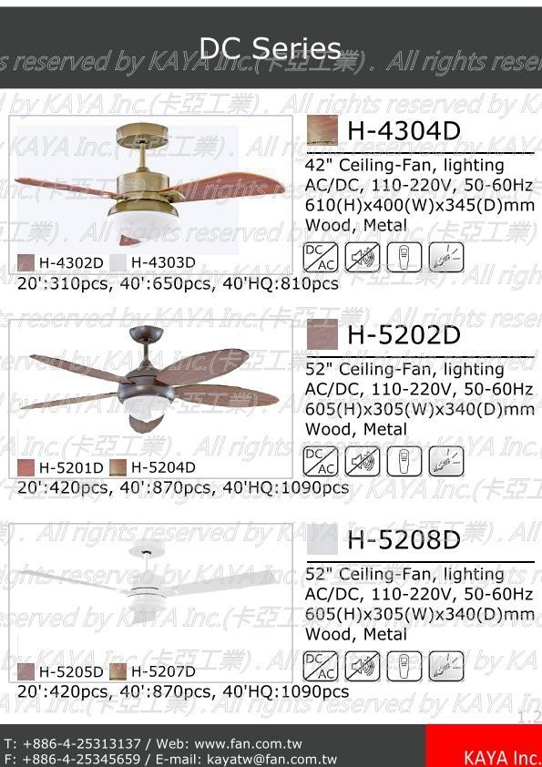 Dc Ceiling Fan With Lighting Ac 110v 220v 50hz