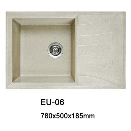 Quartz integrated sink eu 06 quartz sink china for Quartz integrated sink